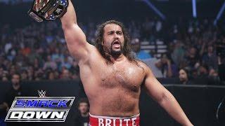 Kalisto vs. Rusev - United States Championship Match: SmackDown, May 26, 2016