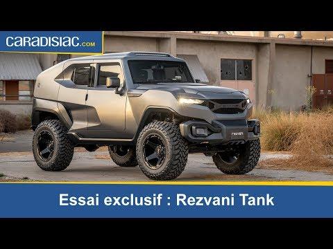 Essai exclusif Rezvani un Tank en ville