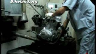 A look inside the Loncin Motorcycle Factory
