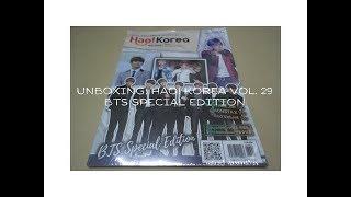 UNBOXING   HAO! KOREA VOL. 29 BTS SPECIAL EDITION