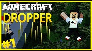 Yüksekten Düşüyorum Yakalayın Beni - Minecraft Dropper - Özel Harita #1