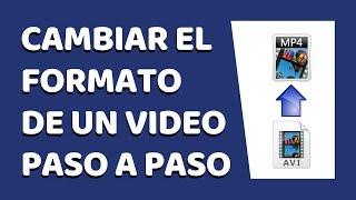 Cómo Cambiar el Formato de un Vídeo Sin Programas en Windows 7, 8 y 10