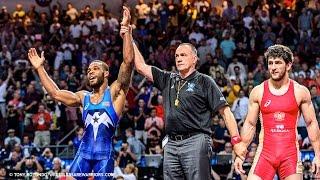Jordan Burroughs (USA) vs Aniuar Geduev (RUS) 2015 World Championship (4K Highlights)