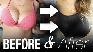 How to Make BIG BOOBS Appear Smaller! #ThinAndCurvy | Lyndsay Rae