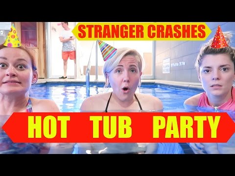 Xxx Mp4 STRANGER CRASHES HOT TUB PARTY 3gp Sex