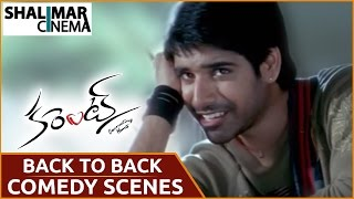Current Movie || Back To Back Comedy Scenes || Sushanth,Sneha Ullal || Shalimarcinema