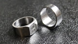 Ring from a nut