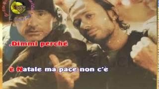 Eros Ramazzotti - Buon Natale se vuoi (karaoke - fair use)