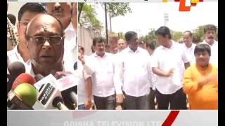 BJD protesting minor hike in paddy