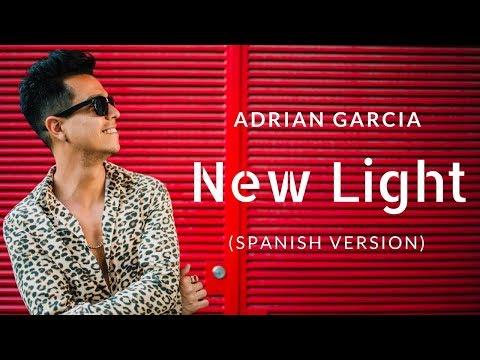 John Mayer - New Light (Spanish Version  Lyric Video) by Adrian Garcia
