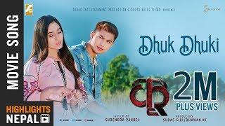 Dhuk Dhuki | New Nepali Movie KRI Song 2018 | Ft. Anmol KC, Aditi Budhathoki