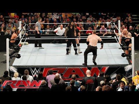 Xxx Mp4 Daniel Bryan Roman Reigns Vs Seth Rollins Big Show Kane J J Security Raw February 9 2015 3gp Sex