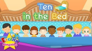 Ten in the Bed - Number song - Counting song - Learn Numbers - Famous baby song with lyrics