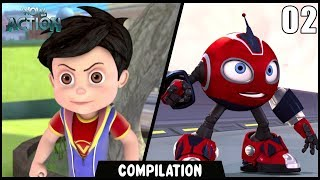 Vir: The Robot Boy & Rollbots | Compilation 02 | Action show for kids | WowKidz Action