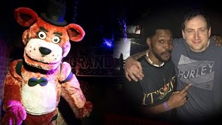 I FREAKING MET SCOTT CAWTHON!! | REAL LIFE FREDDY FAZBEAR'S PIZZA ATTRACTION! (Fright Dome)