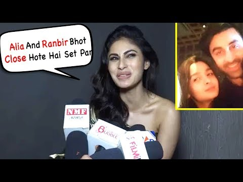 Xxx Mp4 Mouni Roy Share Ranbir And Alia Relationship On Brahmastra Film Set 3gp Sex