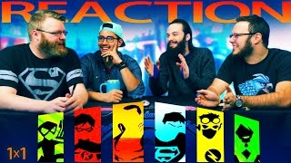 Young Justice 1x1 REACTION!!