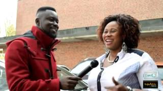 Some Ghanaians in Germany sang the Ghana National Anthem on Ghana´s Independence Day