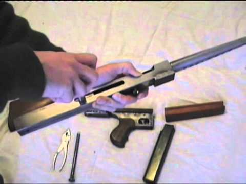 How to make a Thompson SMG PT1 of 4