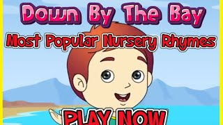 Down By The Bay - Most Popular Nursery Rhymes | Wowkidz | Kids Rhymes | Kids Rhymes