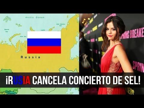 Selena Gomez Defiende Gays, Rusia Cancela Concierto!