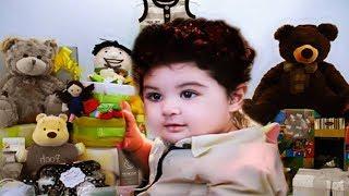 শাকিব খান জুনিয়র এর প্রথম ঈদে দাদু বাড়ি নানু বাড়ির উপহার। Shakib khan Baby Eid Shopping and GIFT