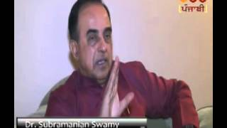 Dr Subramanian Swamy speaks on Operation Bluestar and Sant Jarnail Singh Bhindranwale.