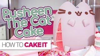 PUSHEEN Cat Cake!! | How To Cake It