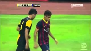 Neymar v Malaysia Skills Goal Highlights
