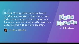 #1 Data Science, Past, Present and Future (with Hilary Mason)