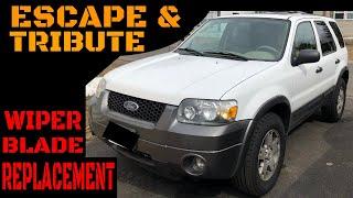 Ford Escape/Mazda Tribute Wiper Blade Replacement Video