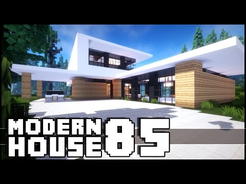 Minecraft house tutorial 24x24 modern house vidoemo for 24x24 modern house