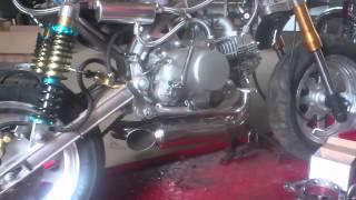Skyteam Monkey twin Exhaust