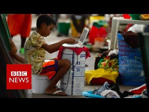 Xxx Mp4 Venezuela Indigenous Group Flees Crisis BBC News 3gp Sex