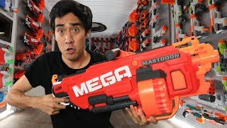 INSIDE THE WORLDS COOLEST NERF FORTRESS - Tour w/ Zach King