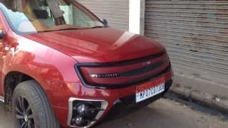 DC Design Renault Duster spotted in Gwalior, Jayendraganj