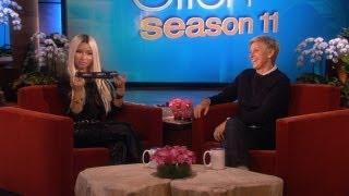 Nicki Minaj Gets Special Ellen Underwear