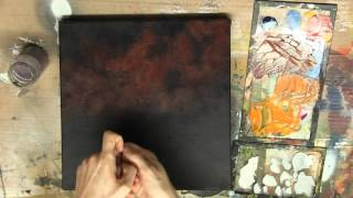 Acrylic Painting Tutorial:  Dry Brushing Part 2