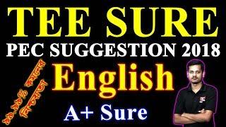 PEC English Suggestion 2018   পিইসি ইংরেজি সাজেশন   PSC English Suggestion   পিএসসি ইংরেজি সাজেশন
