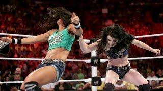 WWE RAW 07.21.14 Paige & AJ Lee vs. Natalya & Emma (720p)