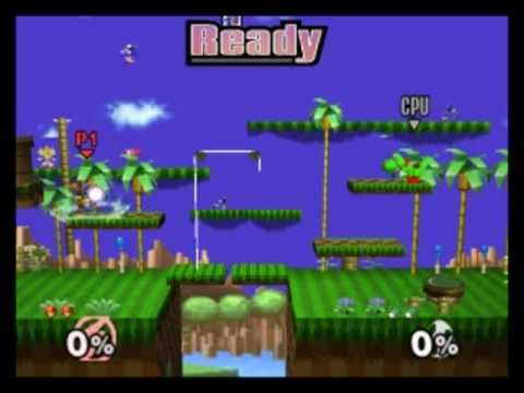 Green Hill Zone Super Smash Brothers Brawl Dual Force