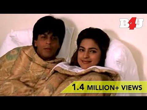 Shahrukh Khan & Juhi Chawla Funny Bed Scene | Yes Boss | Shahrukh Khan, Juhi Chawla
