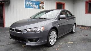 2010 Mitsubishi Lancer GTS Start Up, Engine, In Depth Tour, and Test Drive