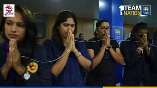 Sri Lanka Women's Team departs for the ICC Womens World T20 2018