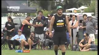 Piri Weepu and Benji Marshall play touch rugby tournament