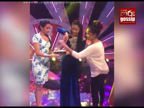 Shalani Tharaka Birthday Celebration in Super Dancer Platform