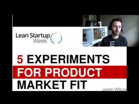 5 Experiments You Need to Find Product-Market Fit