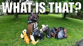 I FOUND ALL OF THIS IN THE TRASH... Trash Picking Ep. 143