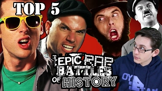 Top 5 Epic Rap Battles of History. Critical Analysis by Mat4yo