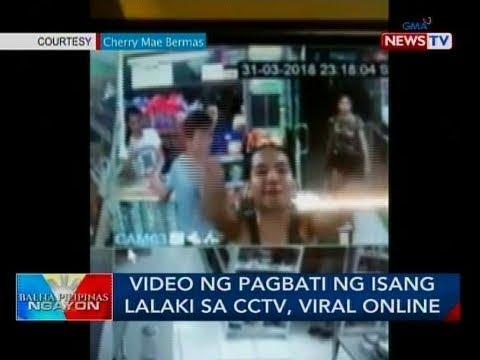 Xxx Mp4 BP Video Ng Pagbati Ng Isang Lalaki Sa CCTV Viral Online 3gp Sex